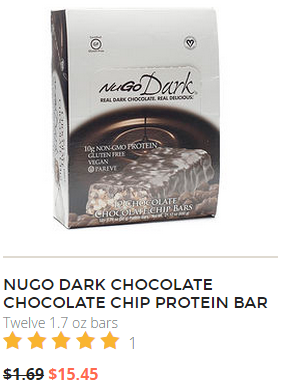 NuGo Bar on Thrive